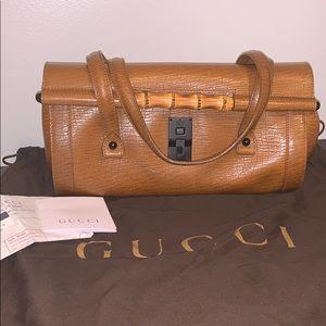 Gucci bullet bamboo bag